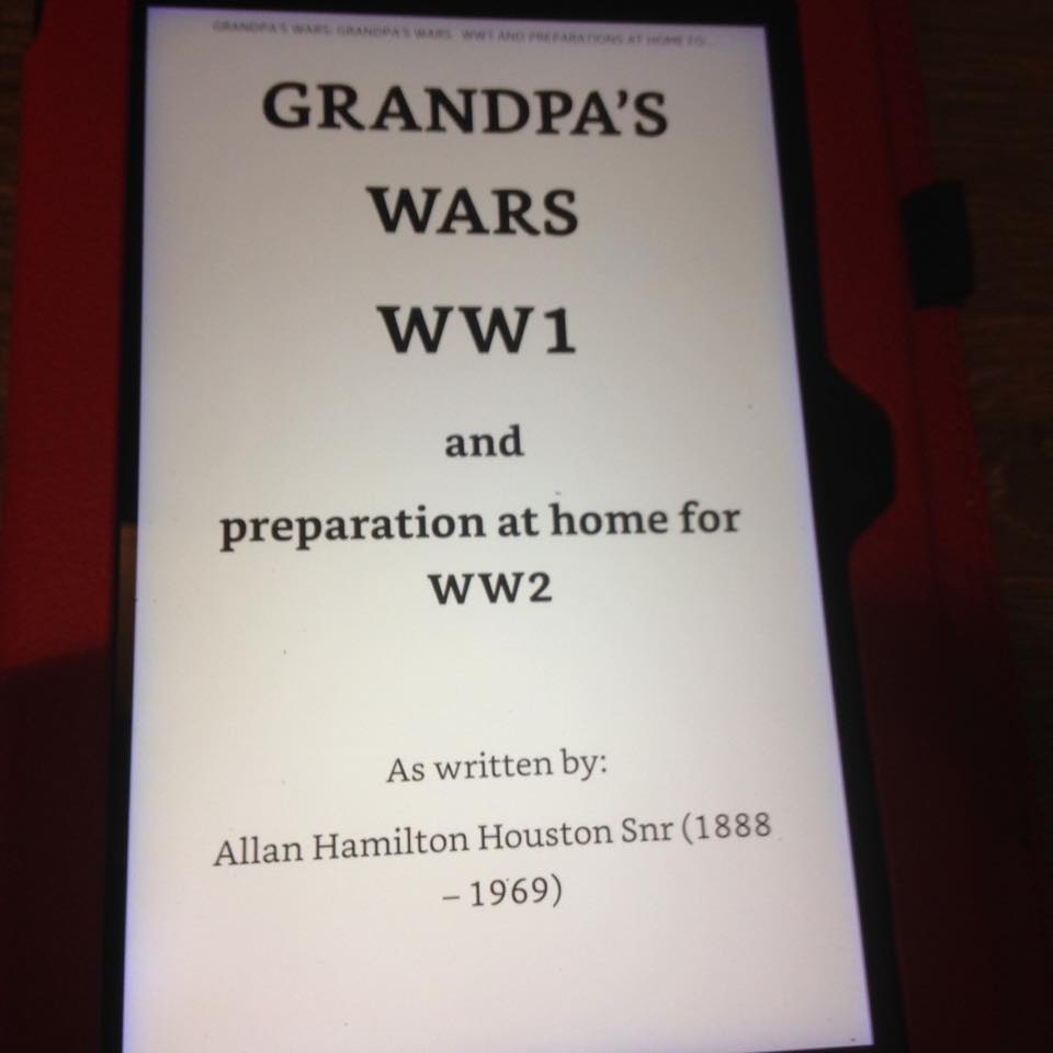 Grandpa's War Diaries